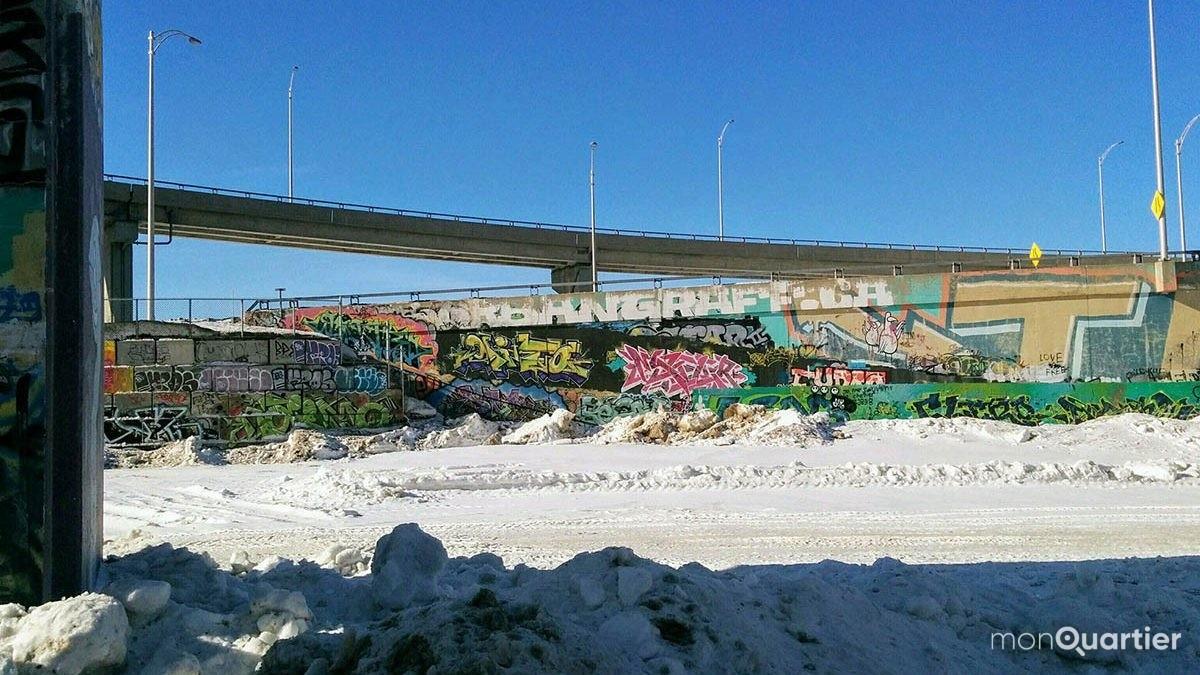 Trois murs légaux pour le graffiti dans la Cité-Limoilou | 31 janvier 2018 | Article par Céline Fabriès