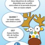 Halte garderie Basse-Ville | Commun'Action 0-5 ans Saint-Sauveur Saint-Roch