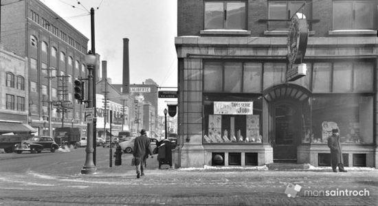 Saint-Roch dans les années 1940 (10) : intersection Charest Est – de la Couronne - Jean Cazes