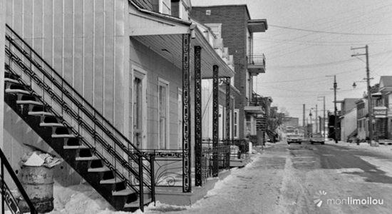 Limoilou dans les années 1960 (30) : rue Papineau - Jean Cazes