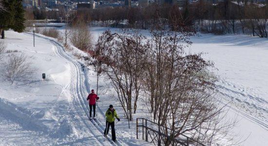 Une journée d'hiver à Limoilou - Stéphanie Vincent