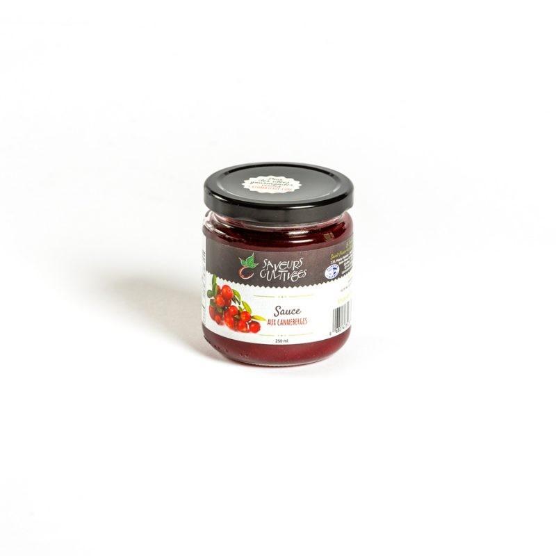 Sauce aux canneberges