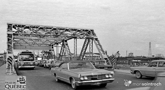 Saint-Roch dans les années 1970 (16) : le pont Drouin - Jean Cazes