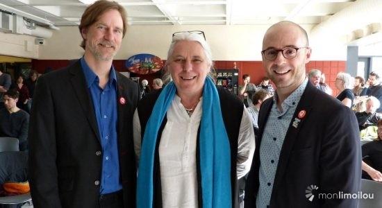 Sol Zanetti, candidat pour Québec solidaire dans Jean-Lesage - Jean Cazes