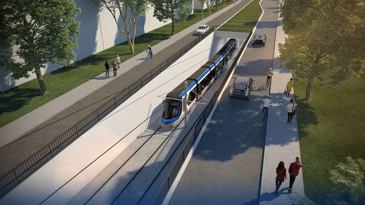 Tramway : des aménagements plutôt que 3 km de tunnel | 6 mars 2020 | Article par Monquartier