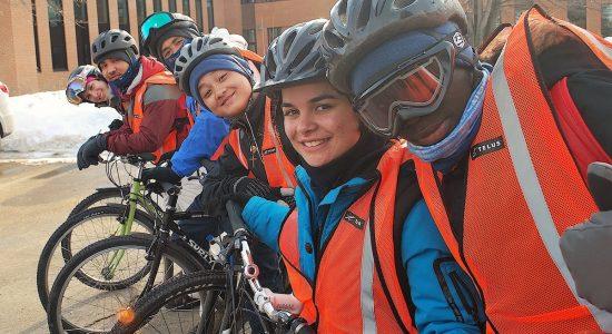 Un défi polaire pour des jeunes du quartier - Stéphanie Vincent