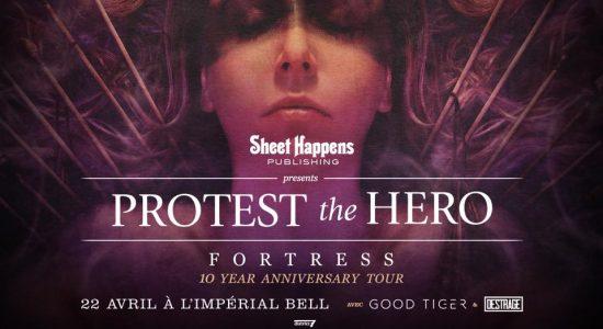 Protest The Hero | Spectacle 10ième anniversaire de Fortress