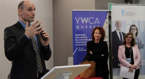 Le gouvernement canadien octroie une subvention de 400 000 $ à la YWCA - Céline Fabriès
