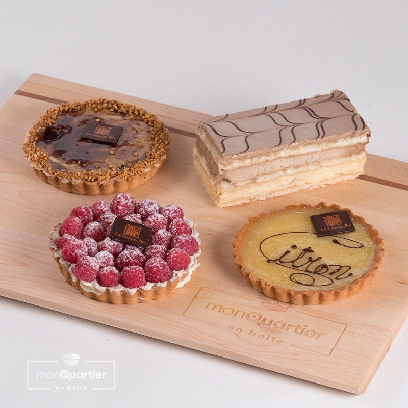 Boîte dessert