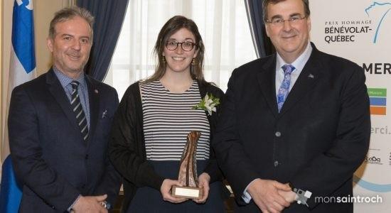 Un prix Hommage bénévolat-Québec pour Sophie Dufour-Beauséjour de CKIA FM - Suzie Genest