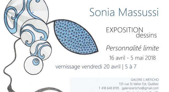 Exposition solo SONIA MASSUSSI