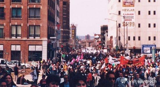 Sommet des Amériques 2001 : souvenirs de la Marche des Peuples - Jean Cazes