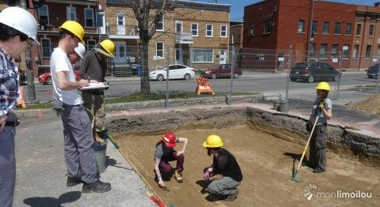 Reprise des fouilles archéologiques sur le site Anderson - Jean Cazes