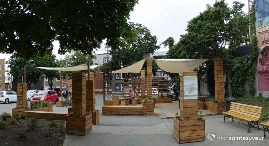 Sondage pour une nouvelle place publique sur Saint-Vallier Ouest - Suzie Genest