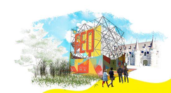 Le Festival d'été de Québec met en scène le Cube et les superhéros - Véronique Demers
