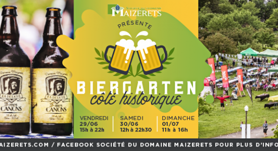 Biergarten du Domaine de Maizerets