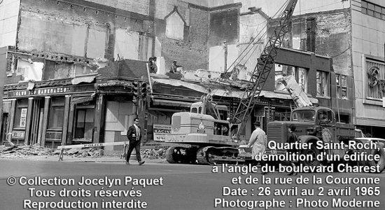 Saint-Roch dans les années 1960 : démolition au Syndicat - Jean Cazes