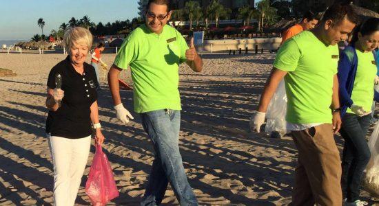 C MONBAG : une mission vouée au nettoyage des rivages - Véronique Demers
