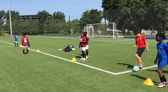Un camp avec Soccer Québec-Centre pour 20 jeunes des habitations de l'OMHQ - Suzie Genest