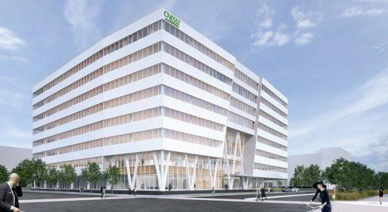 Siège social de la CNESST : nouvel immeuble phare de l'écoquartier D'Estimauville - Jean Cazes
