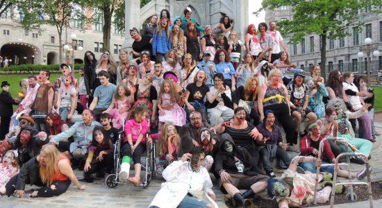 Un site apocalyptique pour les zombies dans Limoilou - Véronique Demers