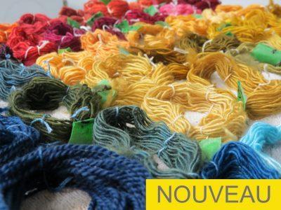 Teintures naturelles et procédés de réserve – Atelier grand public MMAQ