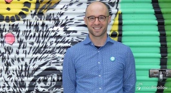 Sol Zanetti, candidat pour Québec solidaire dans Jean-Lesage - Baptiste Piguet