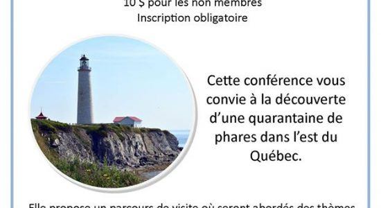 Les phares de Québec