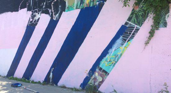 Une nouvelle oeuvre rafraîchit la côte de la Pente-Douce - Véronique Demers