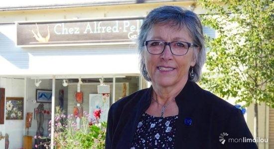Claire Vignola, candidate pour le Parti québécois dans Jean-Lesage - Baptiste Piguet