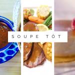 Table d'hôte Soupe Tôt | Bistro de la Goulette