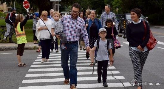 Des chemins d'écoliers pour renforcer la sécurité et le transport actif - Viviane Asselin