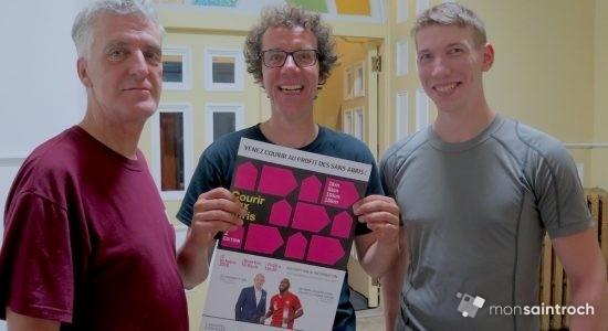 Des usagers d'organismes participent à la 2e édition de Courir aux abris - Véronique Demers
