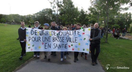 Des familles en marche pour la qualité de l'air en Basse-Ville - Vincent Auclair
