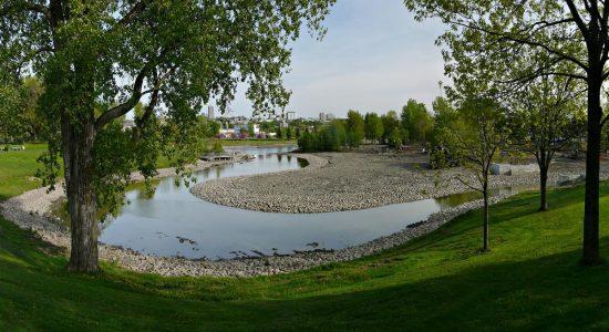 Dix ans de grands chantiers (5) : la métamorphose du parc Cartier-Brébeuf - Jean Cazes