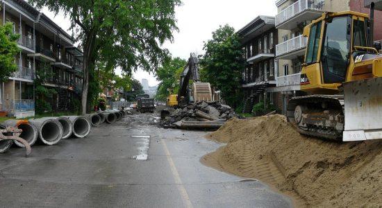Dix ans de grands chantiers : travaux d'infrastructure sur la 3e Avenue (2010) - Jean Cazes