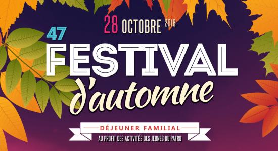 Festival d'automne 2018
