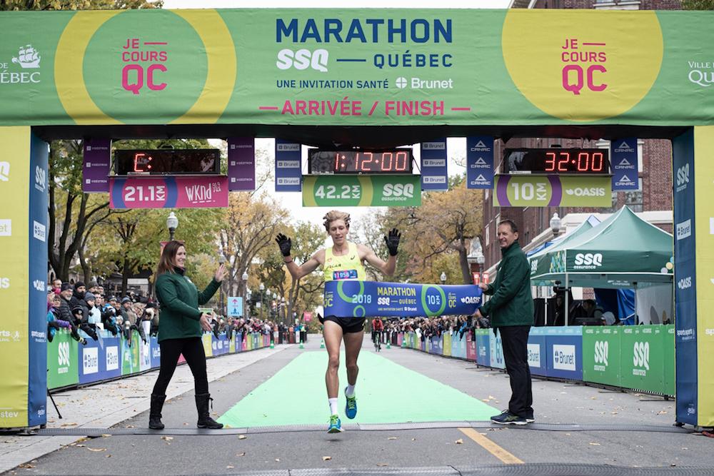 Charles Philibert-Thiboutot remporte le 10 km Oasis au Marathon SSQ | 14 octobre 2018 | Article par Véronique Demers