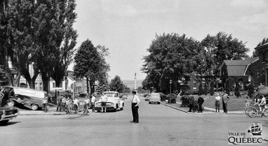 Montcalm dans les années 1960 : avenue des Braves - Jean Cazes