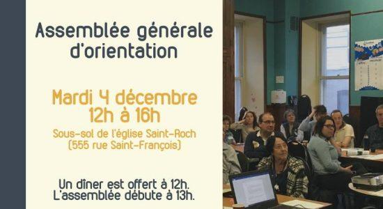 Assemblée générale d'orientation (AGO) de l'EnGrEnAgE