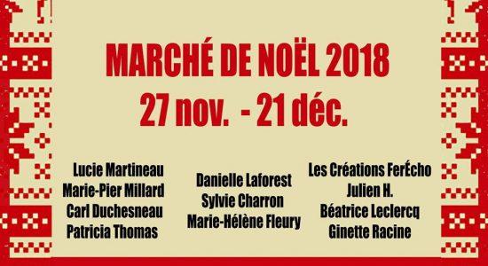 Marché de Noël 2018 | Galerie l'Articho