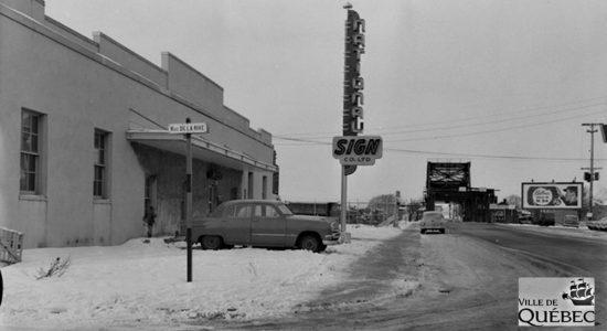 Saint-Roch dans les années 1950 (19) : National Sign Co. Ltd - Jean Cazes