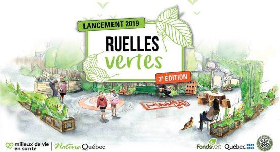 Lancement du projet Ruelles Vertes 3e édition de Nature Québec