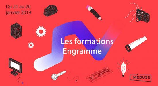 Semaine de formations et conférences artistiques chez Engramme