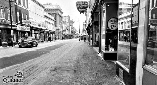 Saint-Roch dans les années 1950 (20) : rue Saint-Joseph Est - Jean Cazes
