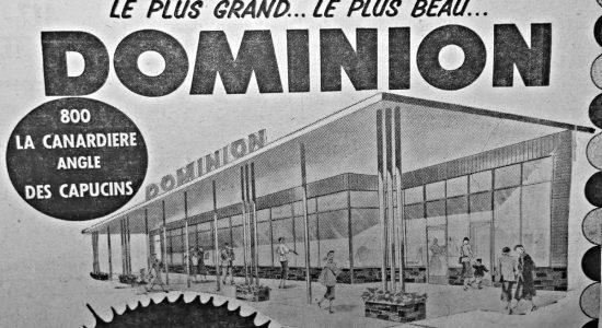 Limoilou dans les années 1950 (44): Dominion s'installe dans le quartier - Jean Cazes