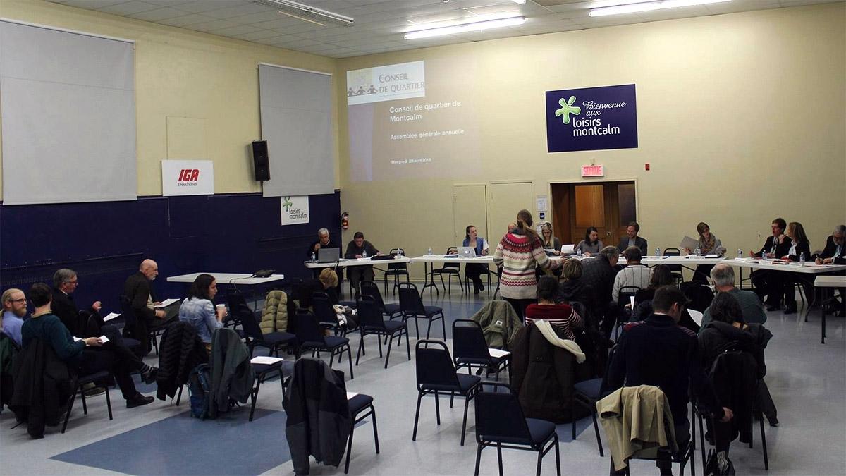 Un conseil de quartier pourrait être dissous | 3 avril 2019 | Article par Véronique Demers