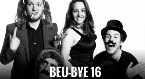 Beu-Bye 2016 : digérer les restants en riant local - Julia Gaudreault-Perron