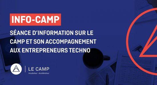 Info Camp – Séance d'information sur LE CAMP et son accompagnement
