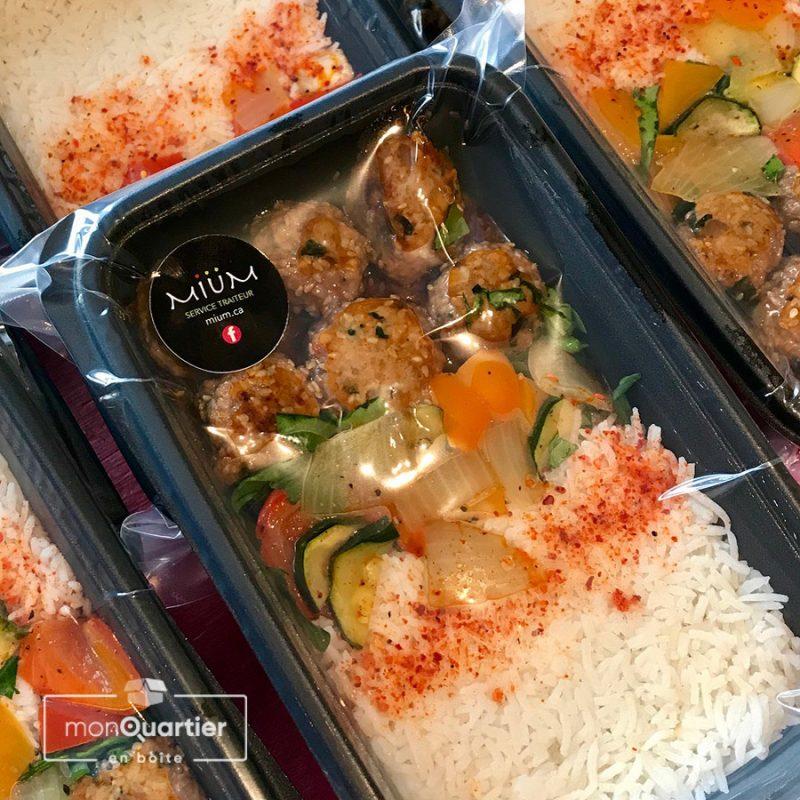 Boîte prêt-à-manger «Mium familiale»